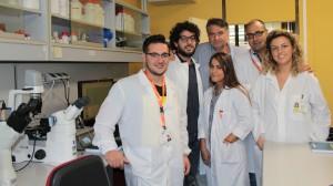 Carmine Vecchione con il team di Fisiopatologia Vascolare Neuromed